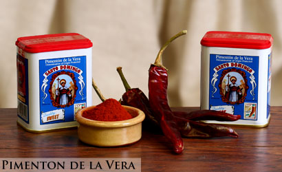 Pimenton de la Vera from Spain - Spanish Paprika