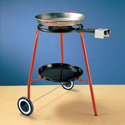 Burner with rolling stand and 46cm Paella Pan BN400-SET46