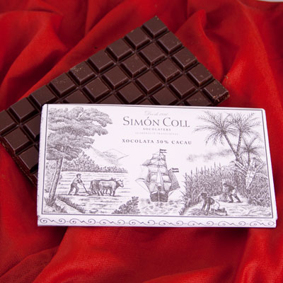 Simon Coll Large Solid Eating Chocolate - Dark 50% Cocoa Copy CL036