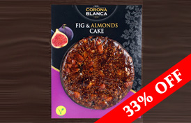 33% Off Artisan Fig Cake with Almonds