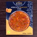 Artisan Freshly Pressed Apricot Cake with Almonds FT028