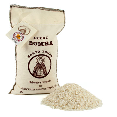 Bomba Rice D.O. in Textile Bag - RC003