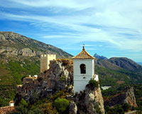 The sleepy village of Guadalest