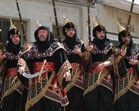 The Moros y Christianos festival in Alicante