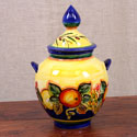 Hand Made Blue-Fruit Style Amphora - ALC-A2-FRA