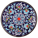 Decorative Hand Painted Plate CER-DAMASCO2-27