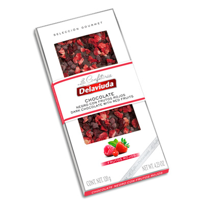 Gourmet Selection Dark Chocolate Bar with Red Fruits CL045
