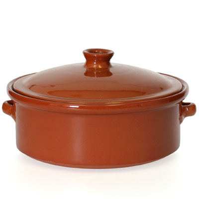 Cocotte Terra-Cotta Clay Pan with Lid - Large - CP051