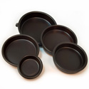 Black Anthracite Cazuela Nesting Mini-Set Of 5 CP202-SET