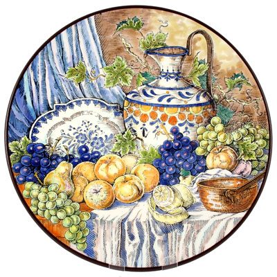 Hand Painted | Decorative Collectible Plates