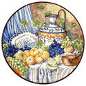 Decorative Hand Painted Plate - CER-BODEGONB2-31