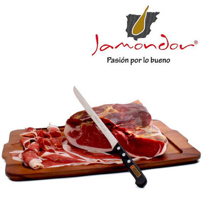 Hand-Sliced Jamon Serrano - Jamondor - JS023