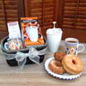 Donut and Chocalate Gift Basket - With our Most Popular Donut/Roscos Maker from Spain KIT027