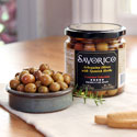 Arbequina Olives in Glass Jar - OL031