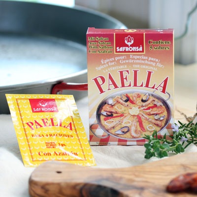 Paella Seasoning Sachets with Saffron - SP039