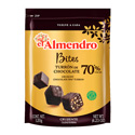 Turron de Chocolate 70%  Bites - Dark TR037